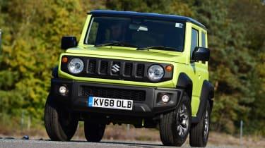 Suzuki Jimny - front cornering