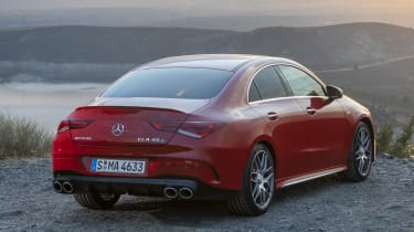 Mercedes-AMG CLA 45 S - rear static