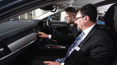 Volvo S90 long term test first report - inside