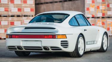RM Sotheby's 2017 Paris auction - 1988 Porsche 959 Sport rear