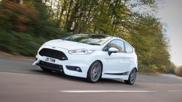 Ford Fiesta ST Mountune 230 - front tracking