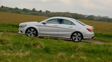 Used Mercedes CLA - side