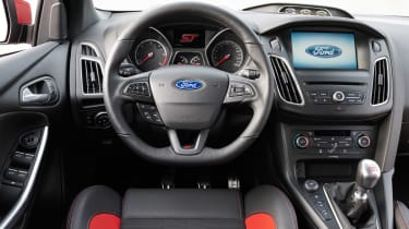 Ford Focus ST diesel steering wheel