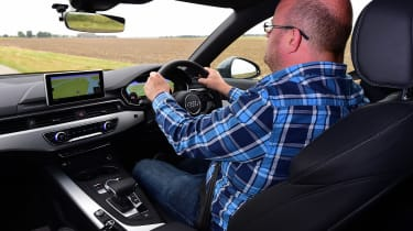 Audi A4 long-term test - driving
