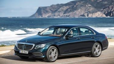 Mercedes E-Class - front driving
