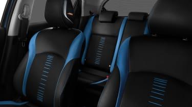 Nissan Juke - seats