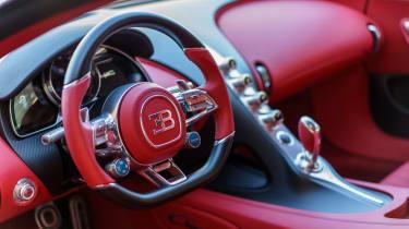 Bugatti Chiron - The Quail interior