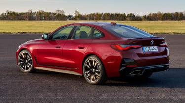 BMW 4 Series Gran Coupe - rear red