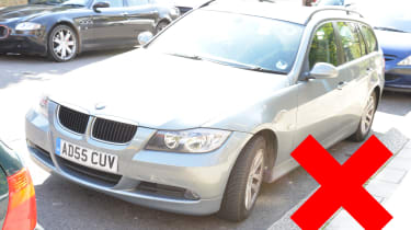 How to photograph your car for sale - overexposed