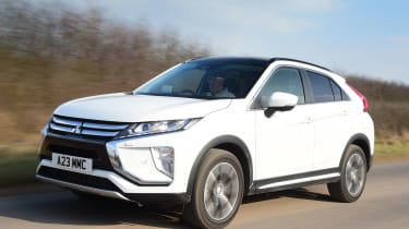 Mitsubishi Eclipse Cross - front