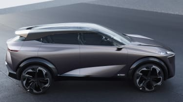 Nissan IMQ concept - side static
