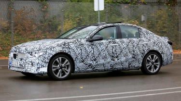 New Mercedes C-Class - spy shot 3