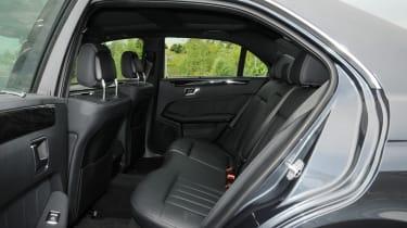 Mercedes E-Class rear seats
