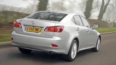 Lexus IS 200d SE rear