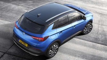 Vauxhall Grandland X - above static