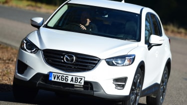 Mazda CX-5 - front action