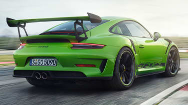 New Porsche 911 GT3 RS rear