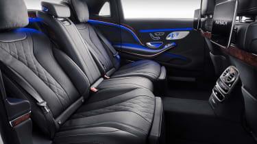 Mercedes-Maybach S-Class back seats