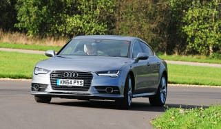 Audi A7 - front cornering