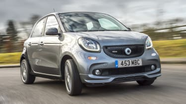 Smart Brabus ForFour 2017 - front cornering