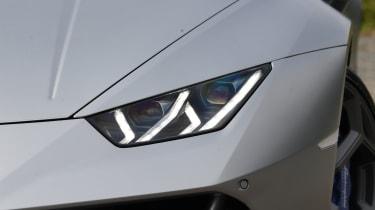 Lamborghini Huracan Evo - headlights