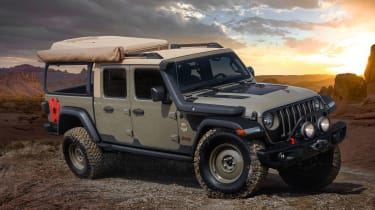 Jeep Wayout - front static