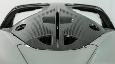 McLaren Speedtail - monocoque shell - rear detail
