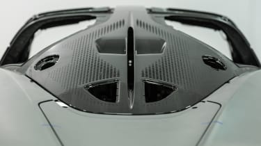 McLaren Speedtail - monocoque shell - rear detail
