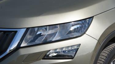 Mazda CX-5 vs Skoda Kodiaq vs VW Tiguan - Skoda Kodiaq headlight