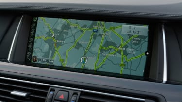 BMW M5 Competition Pack sat-nav