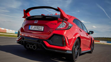 Honda Civic Type R - rear action