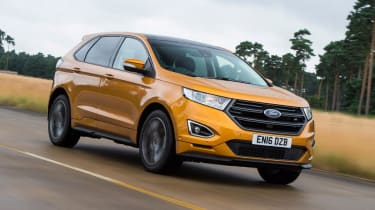 Used Ford Edge - front tracking