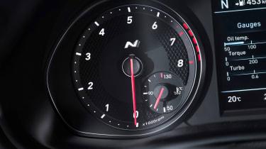 Hyundai i30 N Fastback - dials