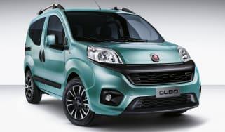 Fiat Qubo 2016 - front quarter blue