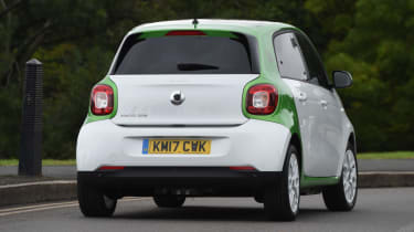 Smart ForFour ED - rear
