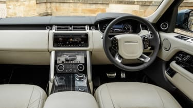 Range Rover PHEV - dash
