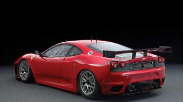 RM Sotheby's 2017 Paris auction - 2008 Ferrari F430 GTC rear