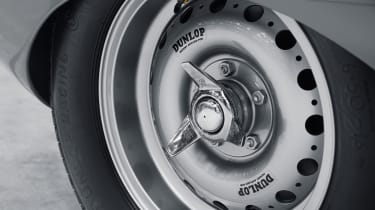 Jaguar D-Type continuation Dunlop alloy wheel