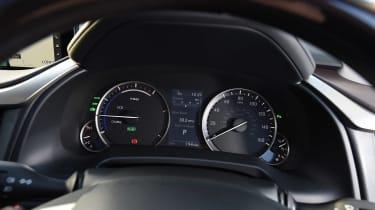 Lexus RX 450h - instruments