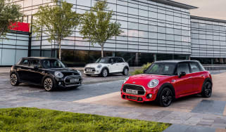 MINI Classic, Sport and Exclusive trims - front