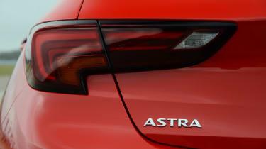 Vauxhall Astra - tail light