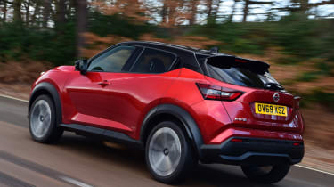 Nissan Juke - rear tracking