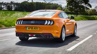Ford Mustang V8 - rear action