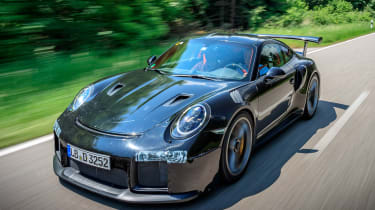 Porsche GT2 RS prototype - front action