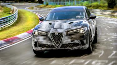 Alfa Romeo Stelvio Nurburgring 13