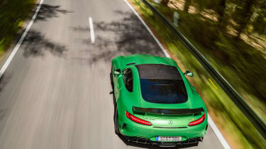 Mercedes-AMG GT R - rear/above