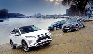 Subaru XV vs Mitsubishi Eclipse Cross vs Skoda Karoq - header
