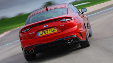 Kia Stinger - rear