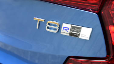 Volvo S60 T8 - Long term test badge