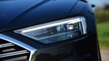 Audi A8 55 TFSI - front light